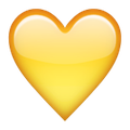 yellow-heart