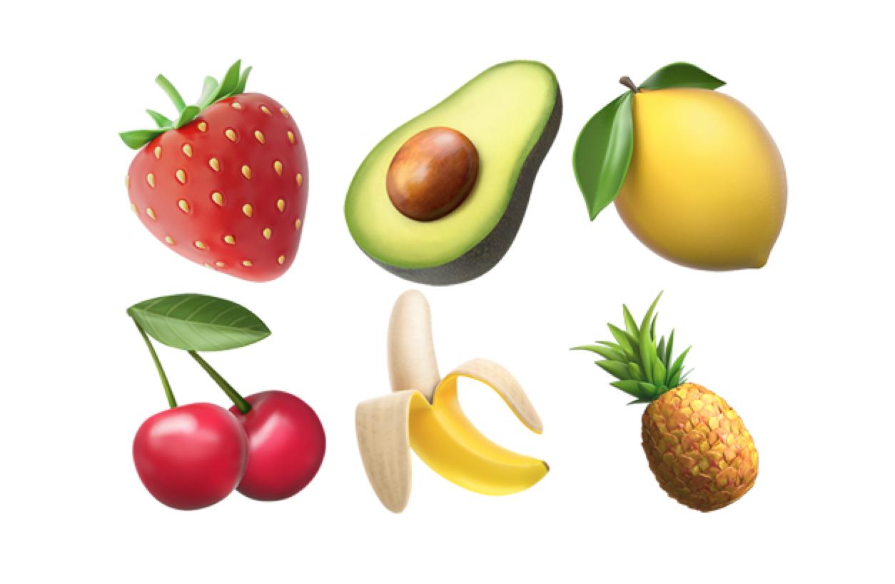 🍓 Fruit - 🏆 Snapchat Trophies & Emojis